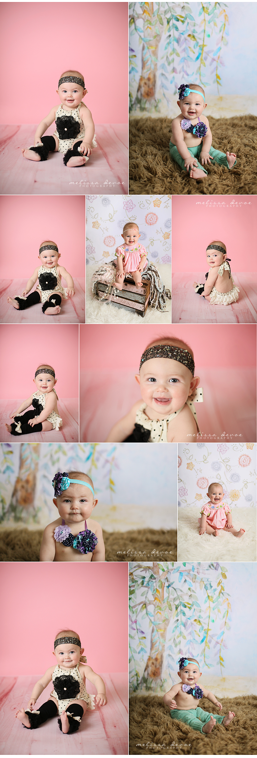 Melissa DeVoe Photography Raleigh Baby Photographer
