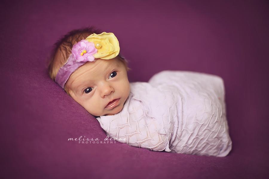 Melissa DeVoe Photography Raleigh Newborn Baby Photographer