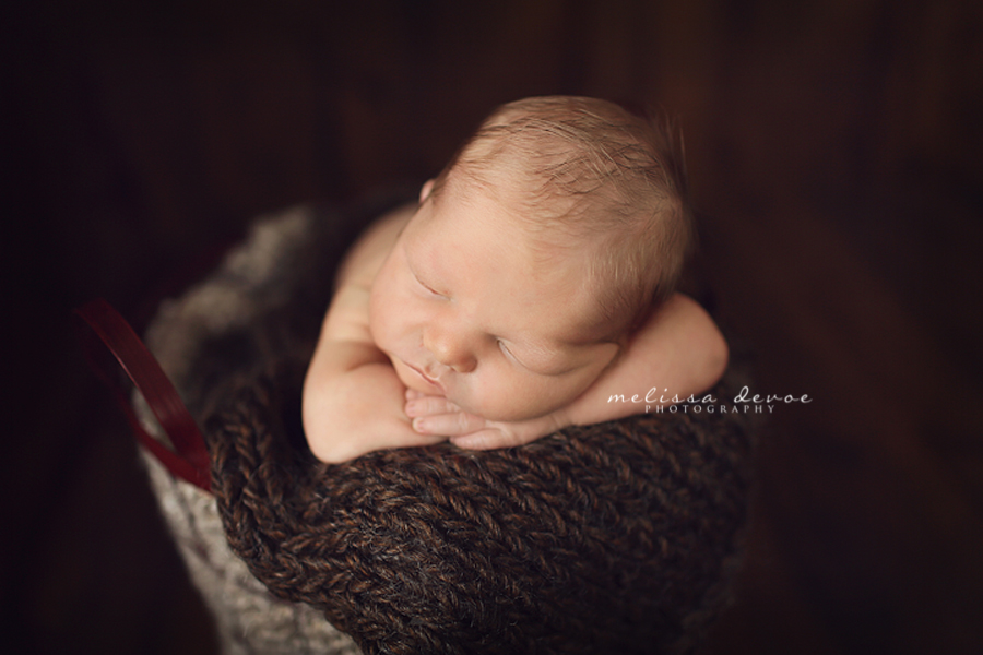 Raleigh Newborn Baby Photographer Melissa DeVoe Photography