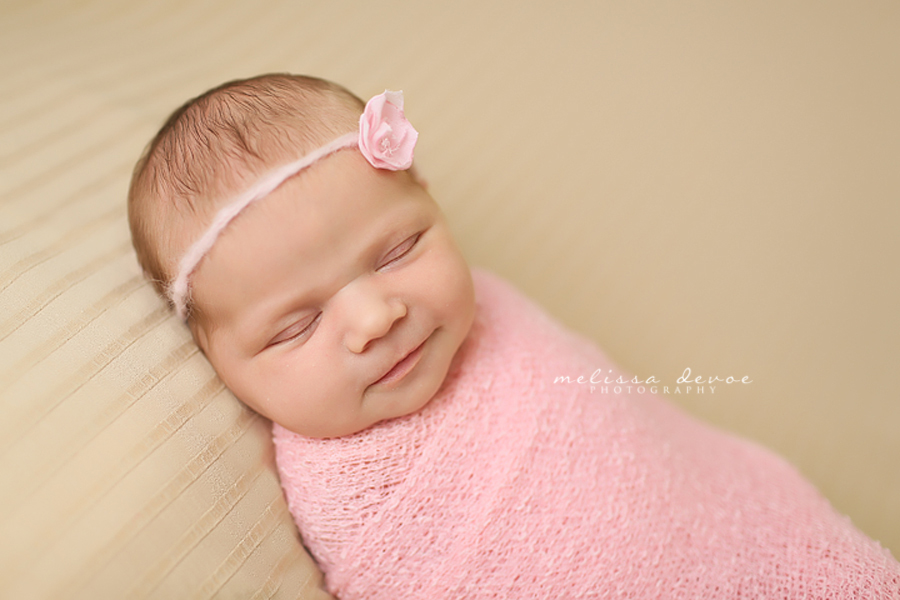 Melissa DeVoe Photography Raleigh Durham Newborn Baby Photographs