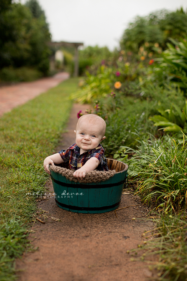 Raleigh Baby Photography Melissa DeVoe