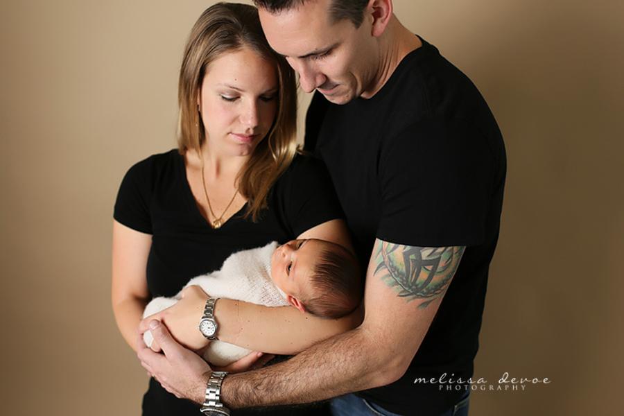 Melissa DeVoe Photography Raleigh Durham NC Newborn Infant Photographer