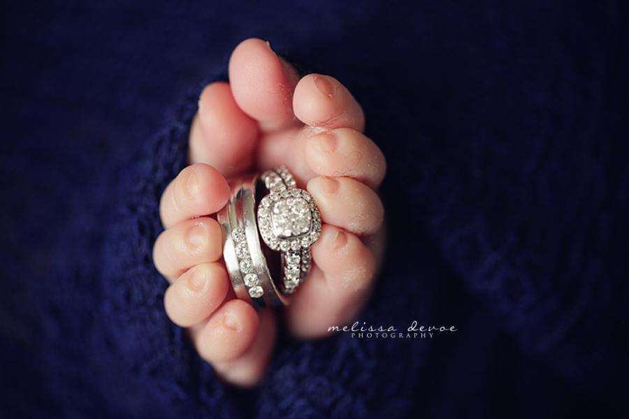 Melissa DeVoe Photography Raleigh Durham Wake Forest Newborn Baby Photographer