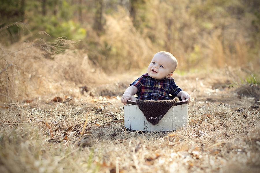 Melissa DeVoe Photography Raleigh Baby Photographer