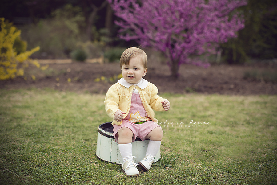 Melissa Devoe Raleigh Baby Photographer