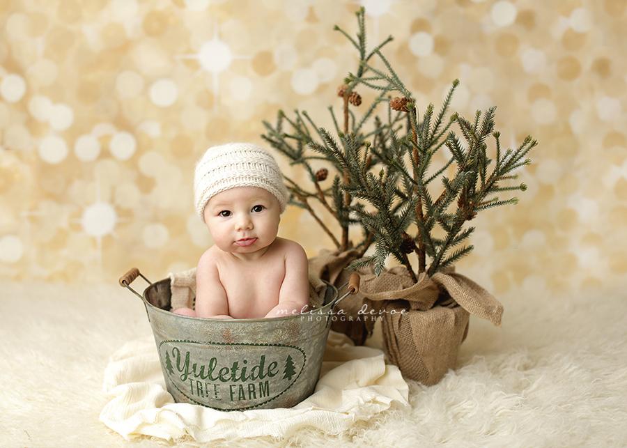 Melissa DeVoe Raleigh Baby Newborn Photographer
