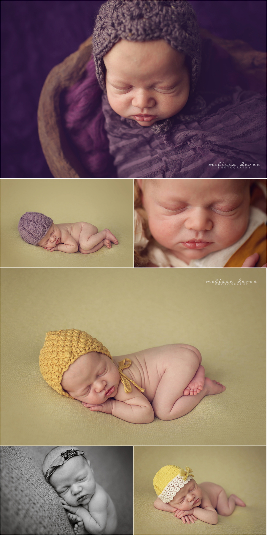 Melissa DeVoe Raleigh Newborn Baby Photographer
