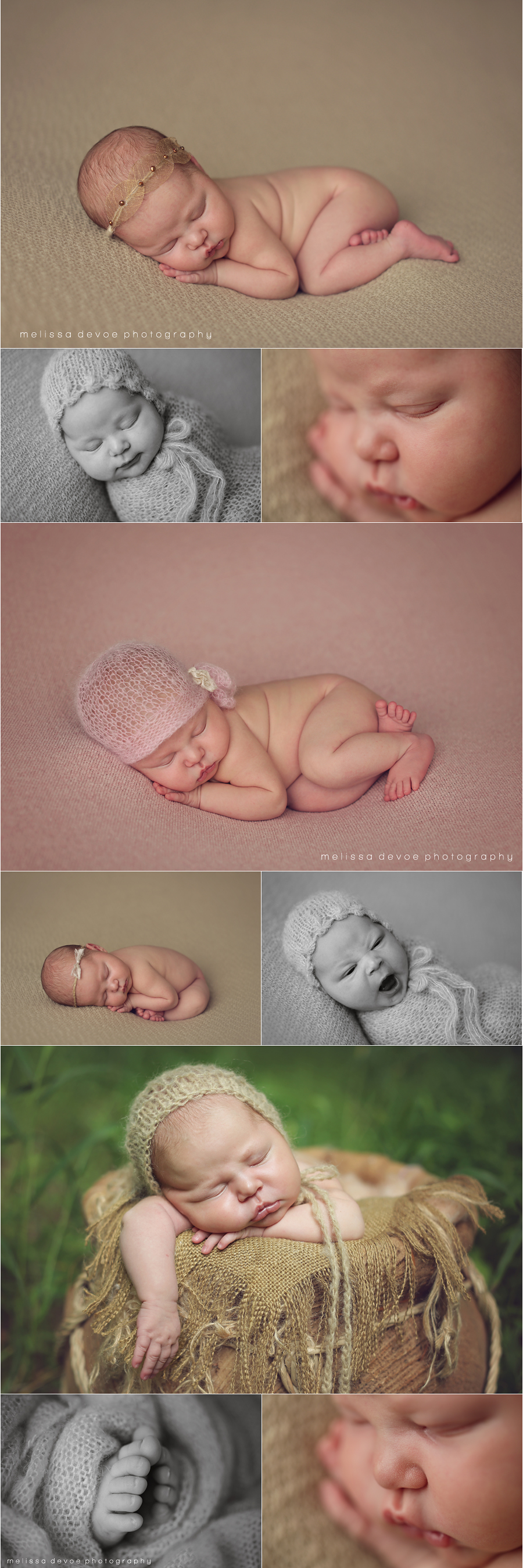 Melissa DeVoe Best Raleigh Newborn Baby Photographer