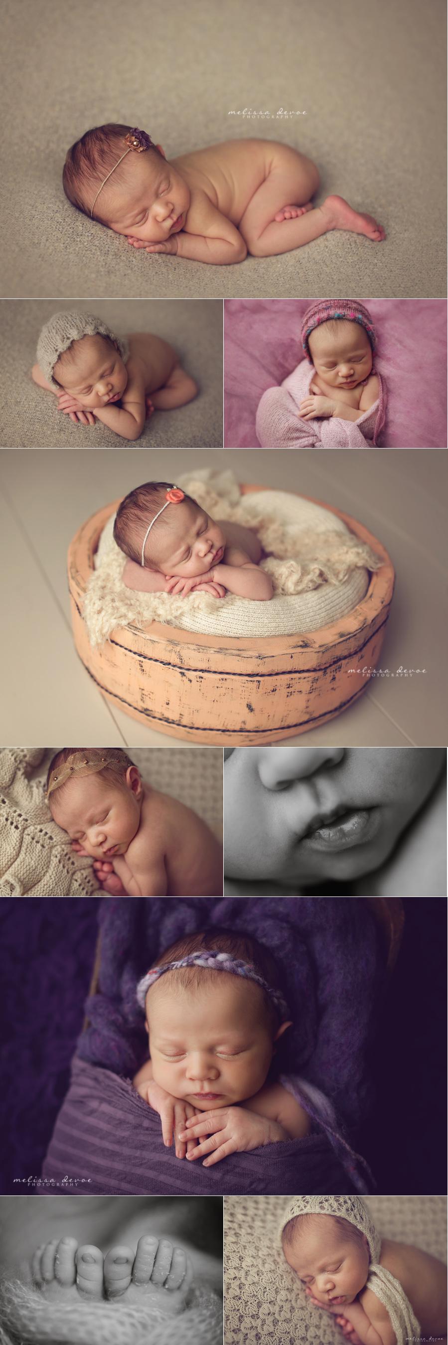 Melissa DeVoe Best Raleigh Newborn Baby Photographer