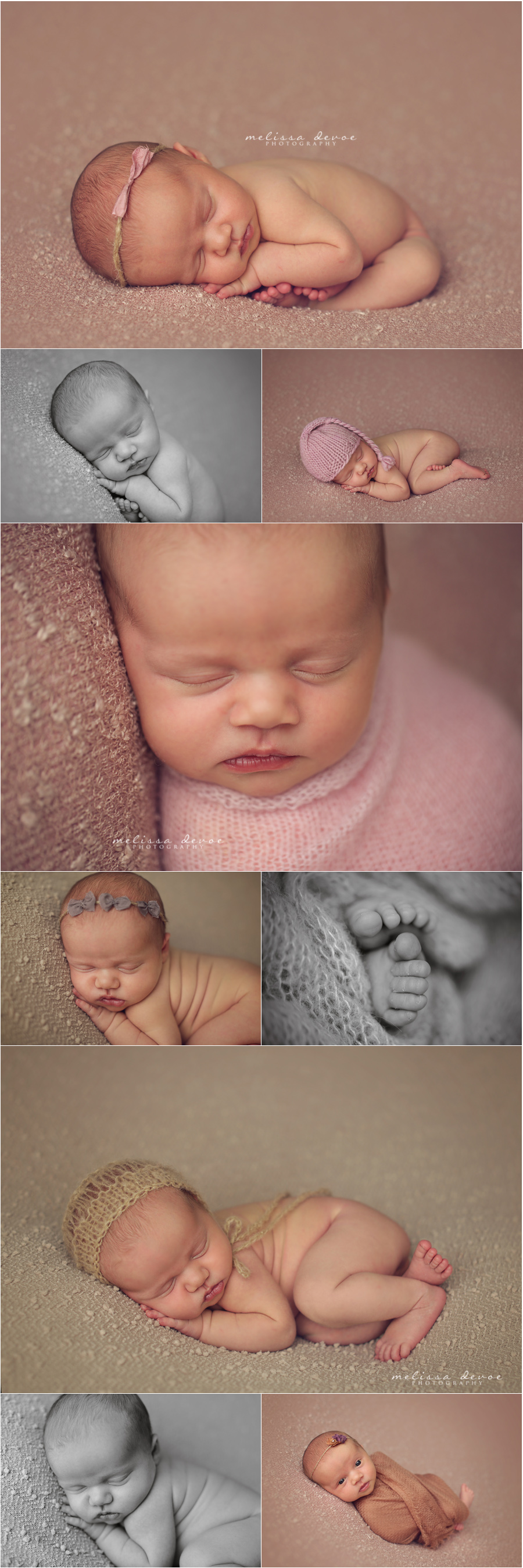Melissa DeVoe Photography Raleigh Newborn Baby Photographer 2