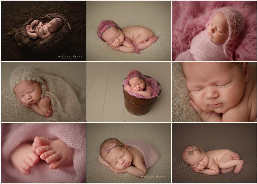 Melissa DeVoe Photography Raleigh Baby Newborn Photographer