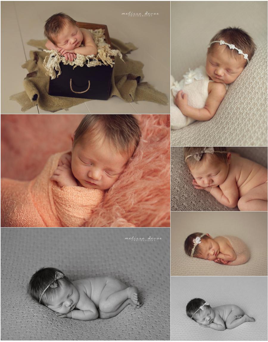 Melissa DeVoe Photography Raleigh Newborn Baby Photographer 2