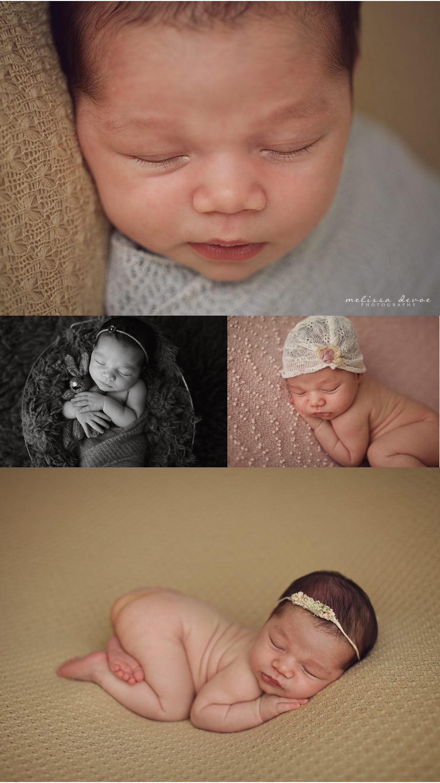 Melissa DeVoe Photography Raleigh Newborn Baby Photographer 4