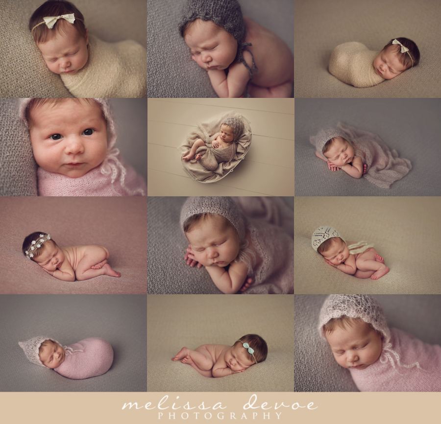Melissa DeVoe Photography Raleigh Wake Forest Newborn Baby Photographer