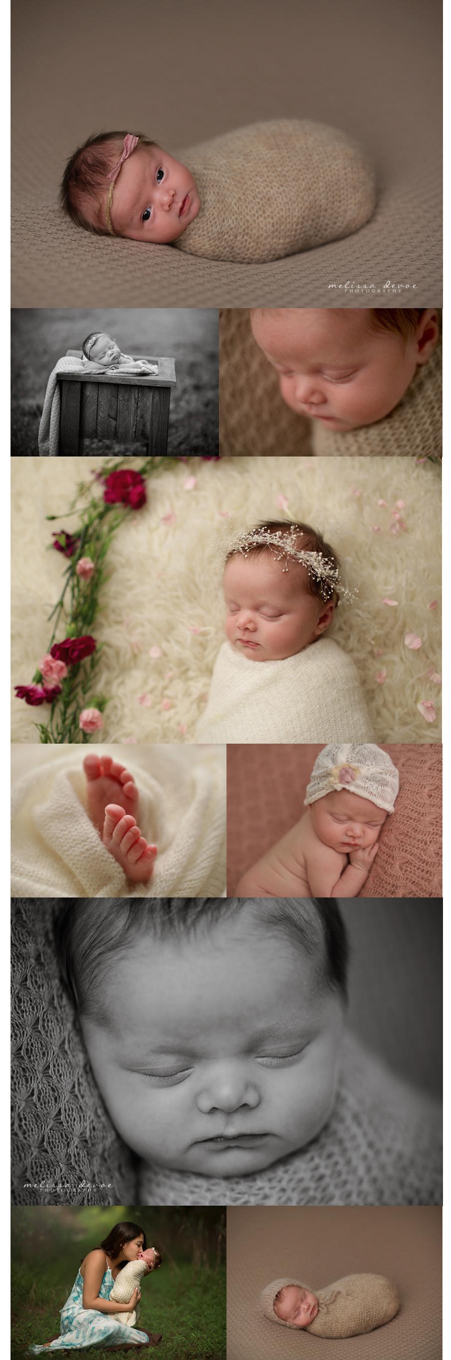 Melissa DeVoe Photography Raleigh NC Newborn Baby Photographer 2