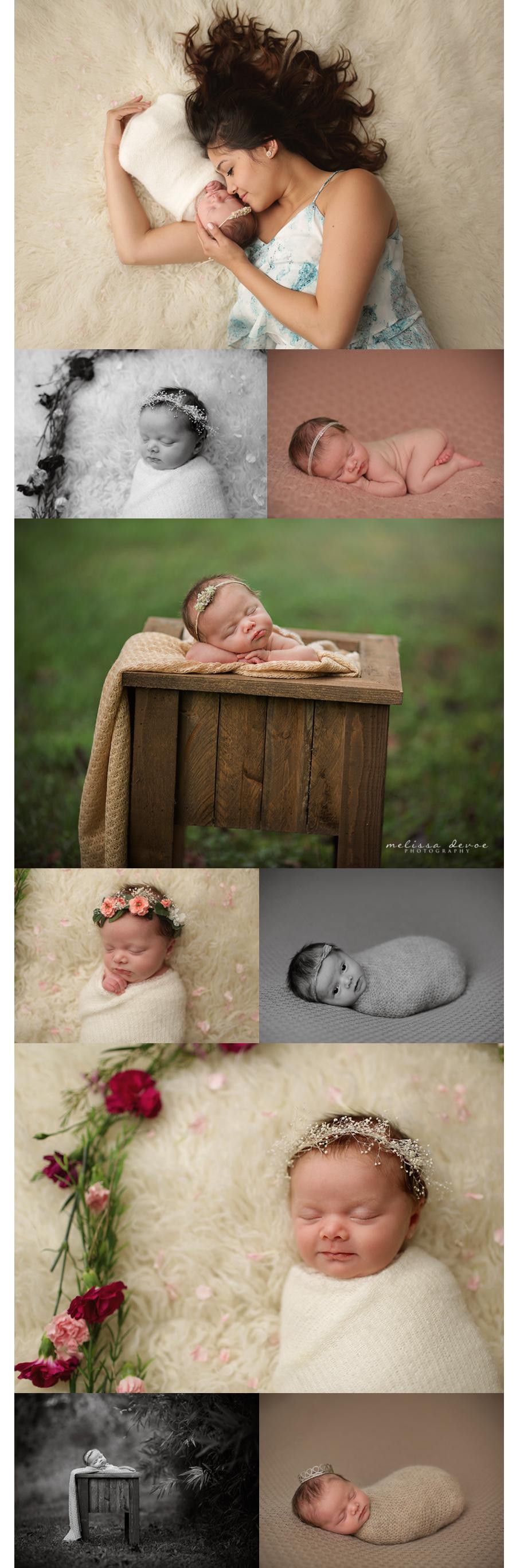 Melissa DeVoe Photography Raleigh NC Newborn Baby Photographer 3