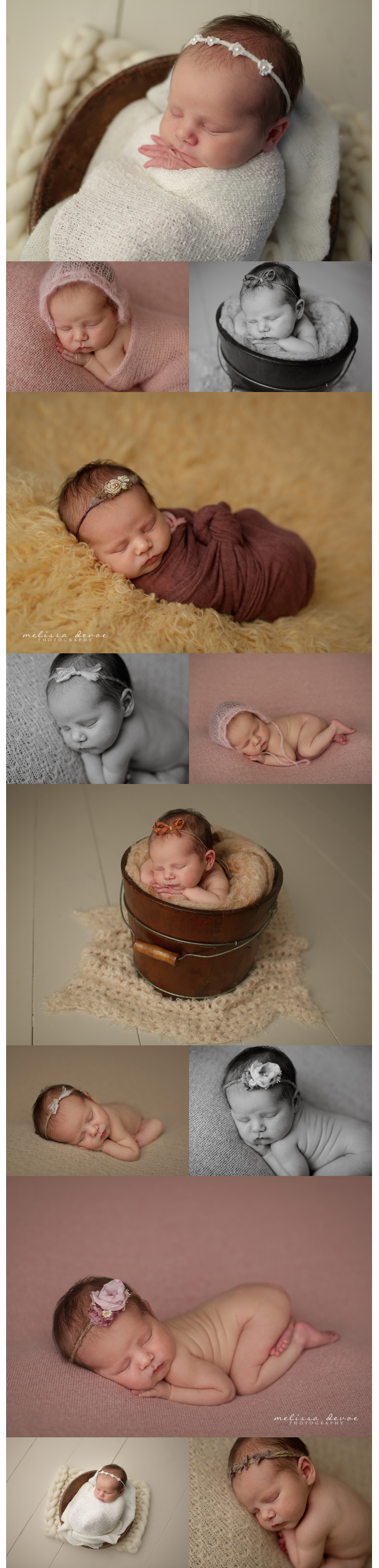 Melissa DeVoe Photography Raleigh Newborn Baby Photographer 3