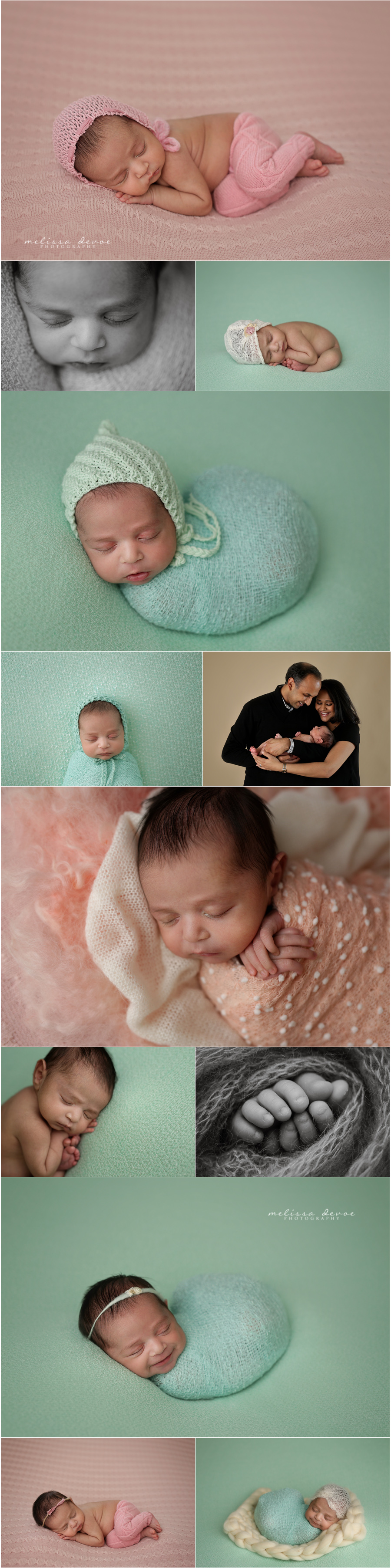 Melissa DeVoe Photography Raleigh NC Newborn Baby Photographer 2