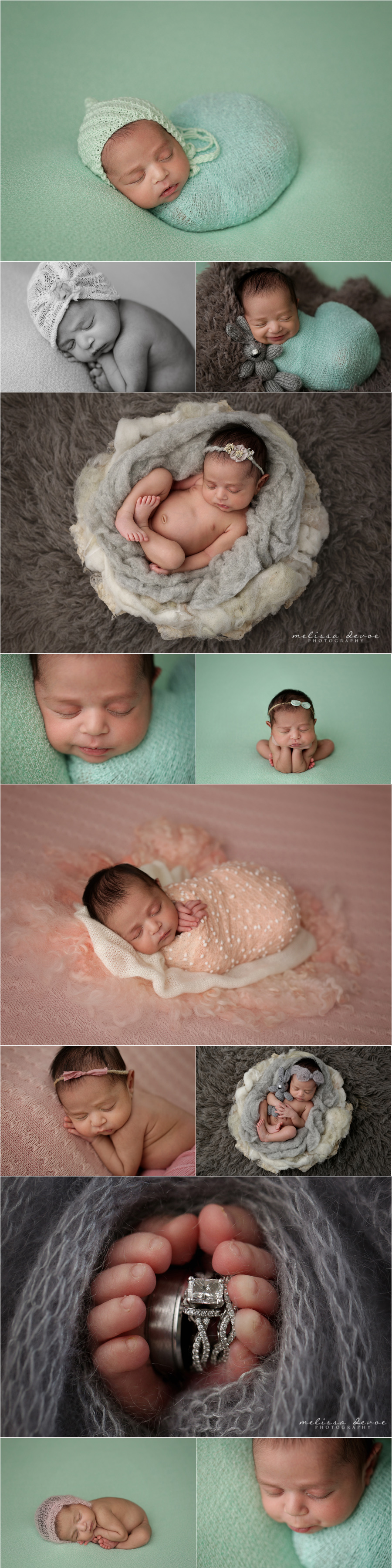 Melissa DeVoe Photography Raleigh NC Newborn Baby Photographer