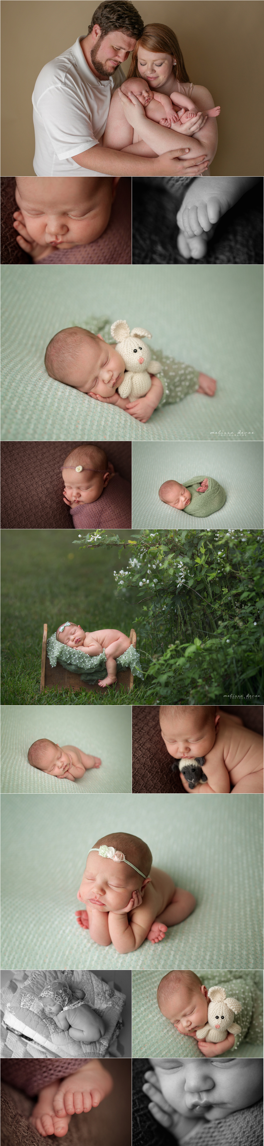 Melissa DeVoe Photography Raleigh Baby and Newborn Photographer 1