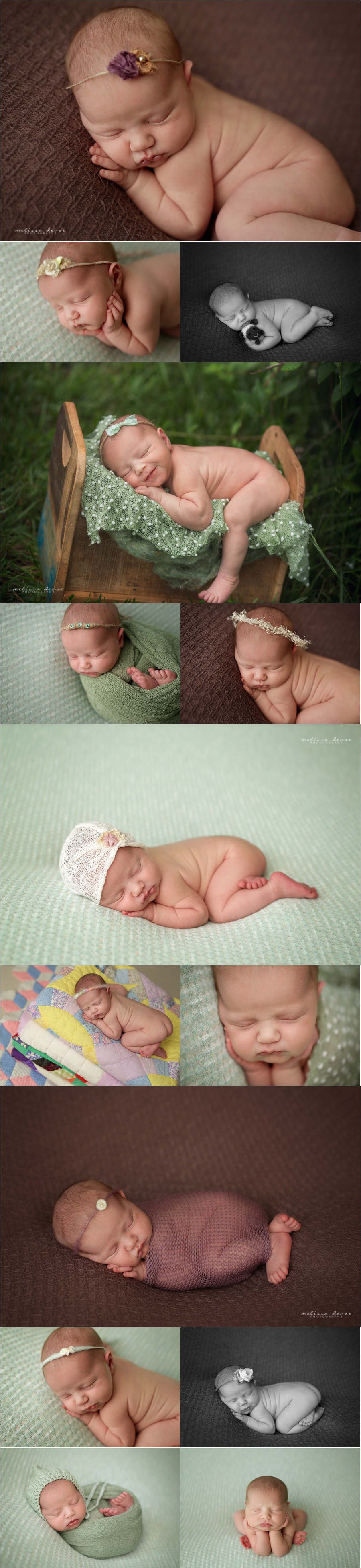 Melissa DeVoe Photography Raleigh Baby and Newborn Photographer 2