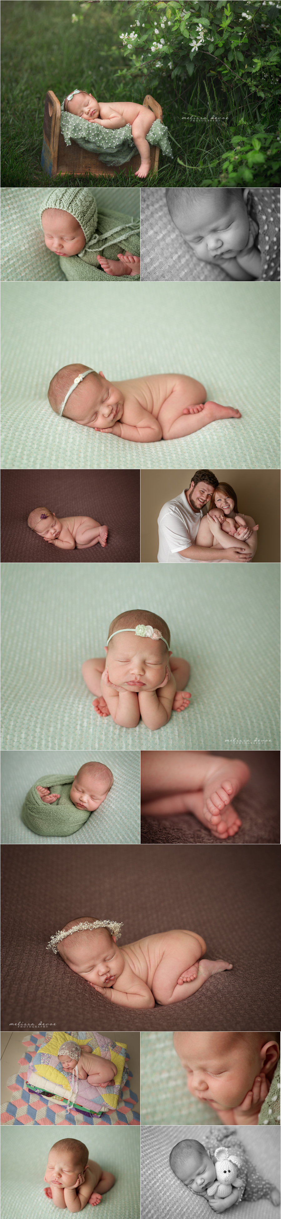 Melissa DeVoe Photography Raleigh Baby and Newborn Photographer