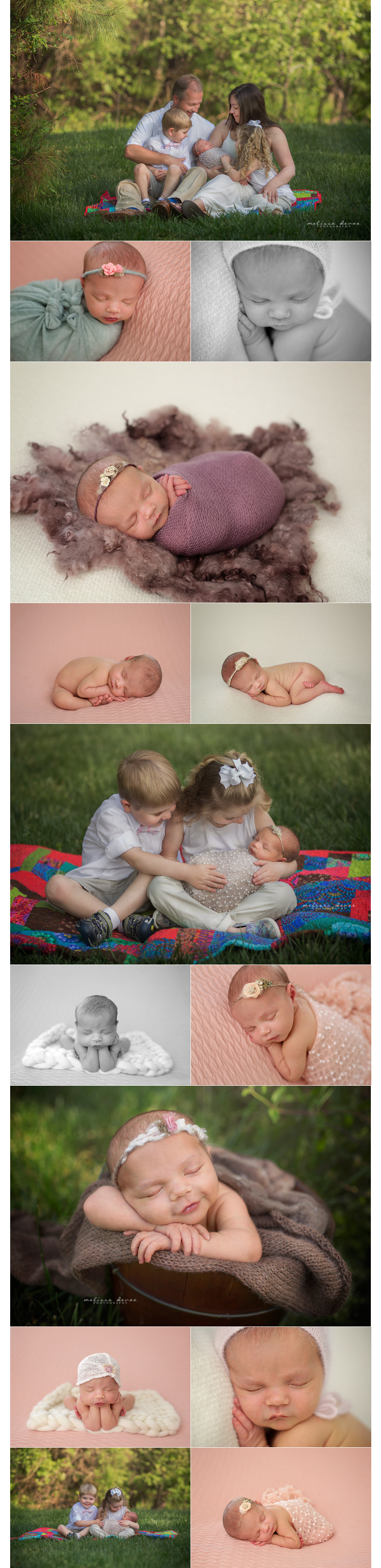 Melissa DeVoe Raleigh Newborn Baby Photographer 1
