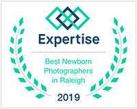Voted Best Newborn Photographer in Raleigh 2019