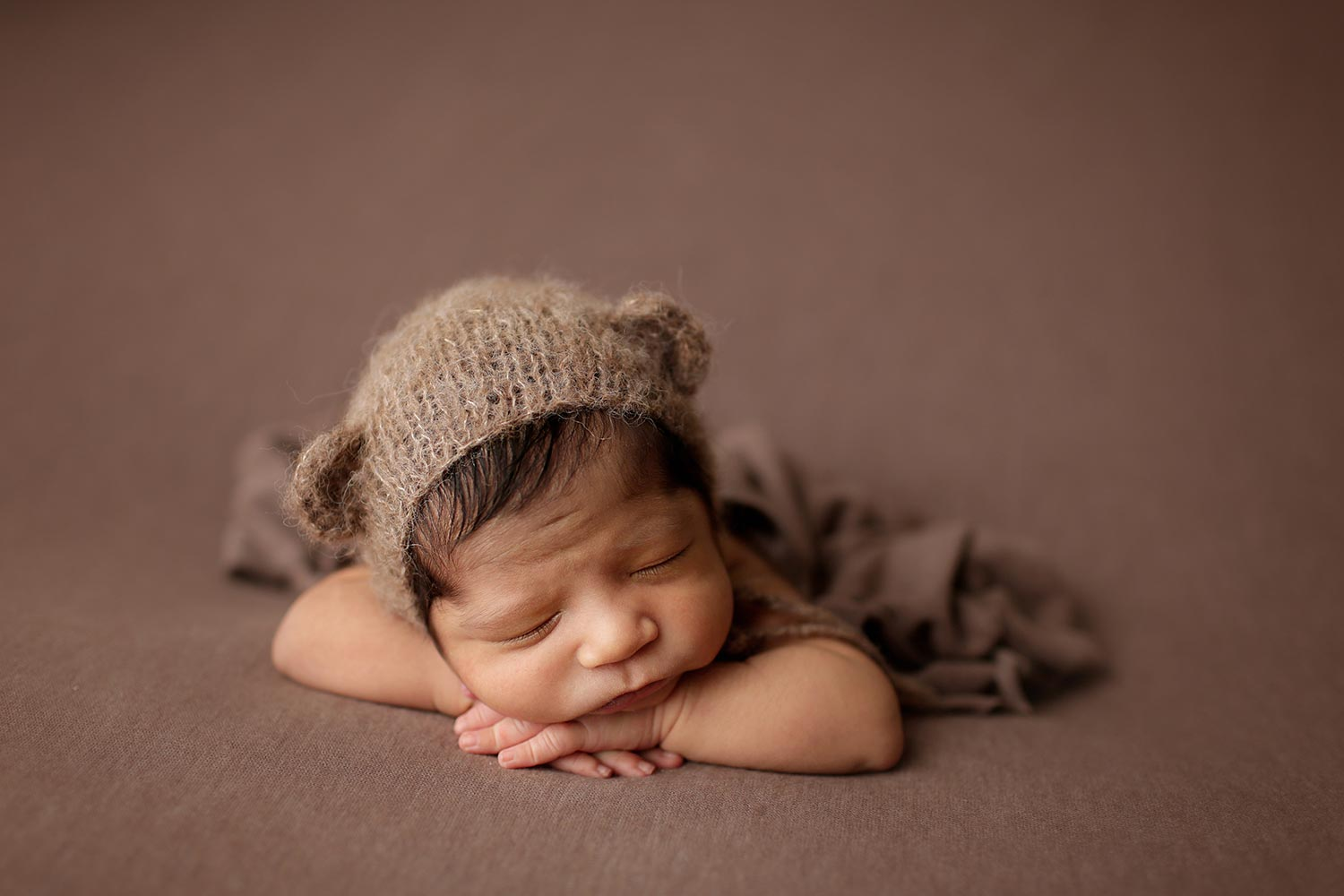 newborn photo session wake forest