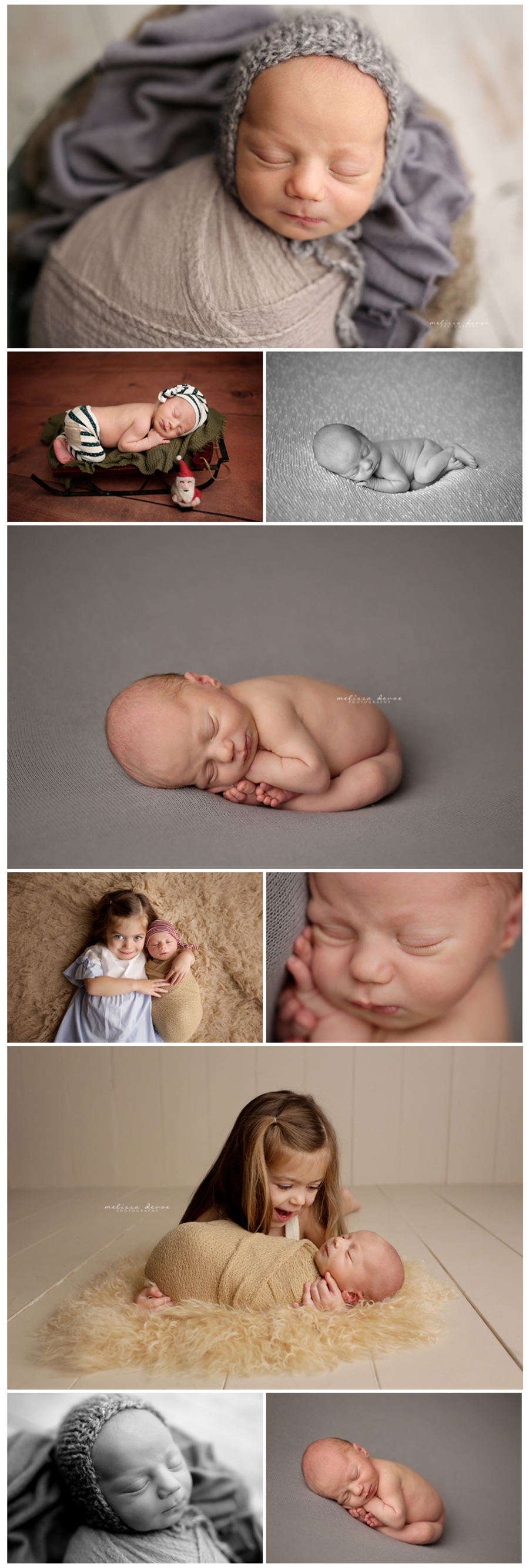 Raleigh North Carolina Infant Photography