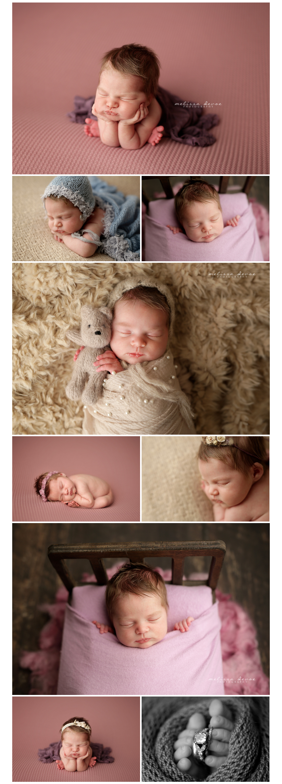 Newborn Baby Photography Studio Raleigh