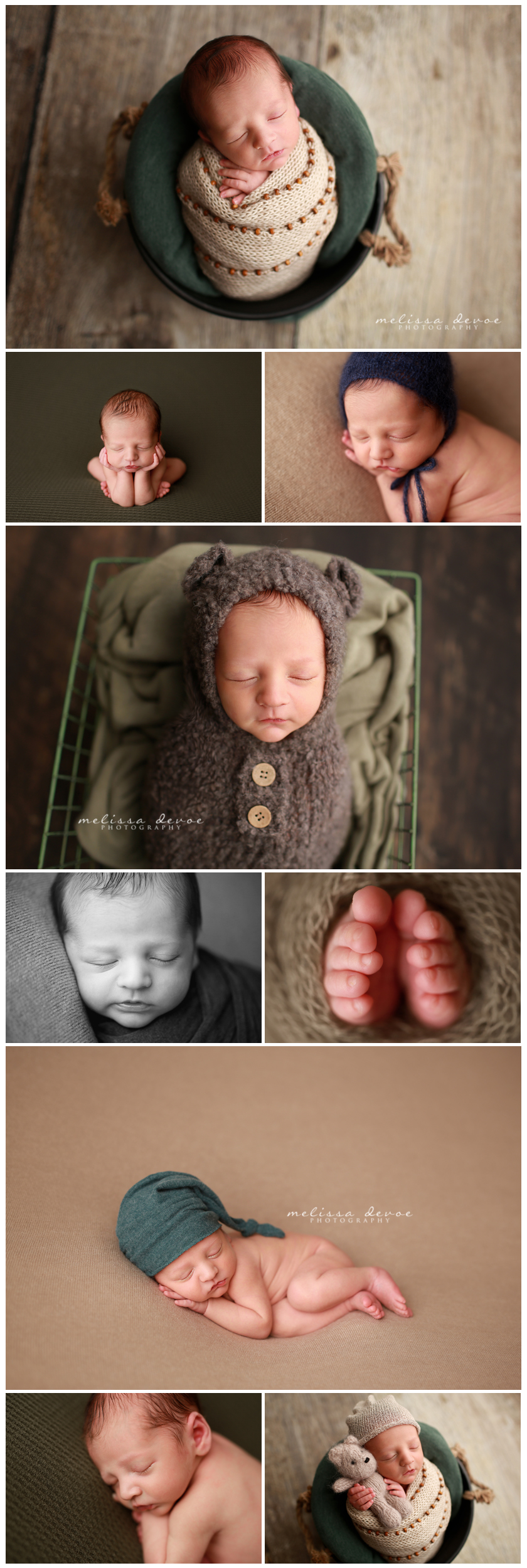 Newborn Baby Photographer Raleigh
