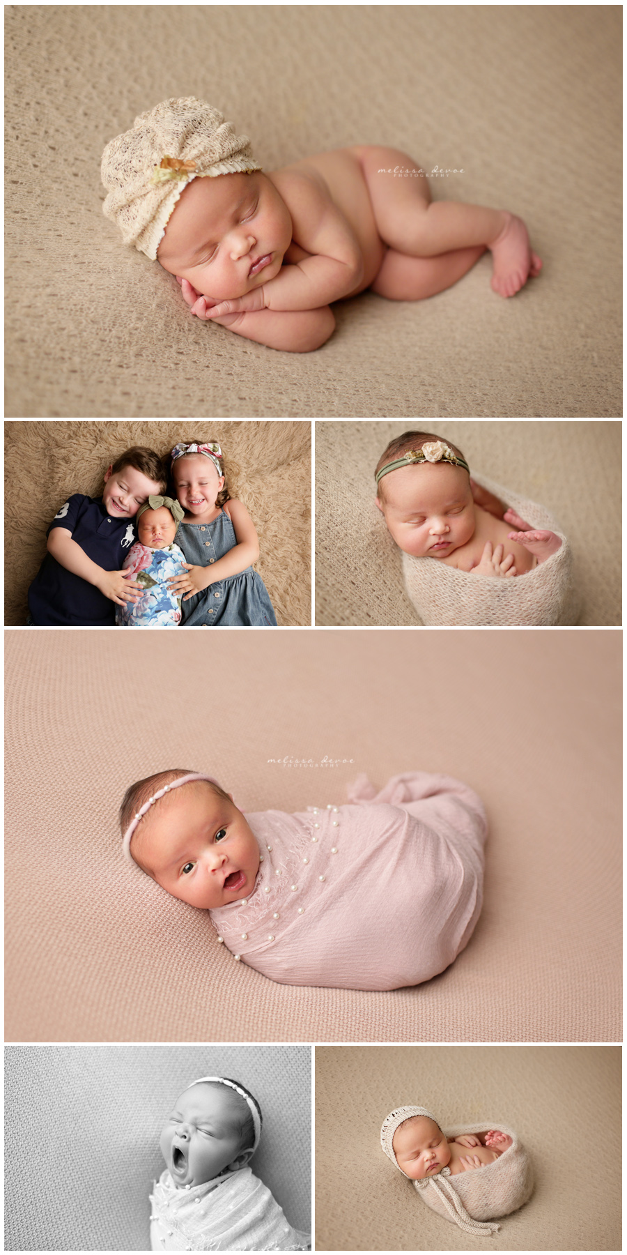 Raleigh Newborn and Baby Photos