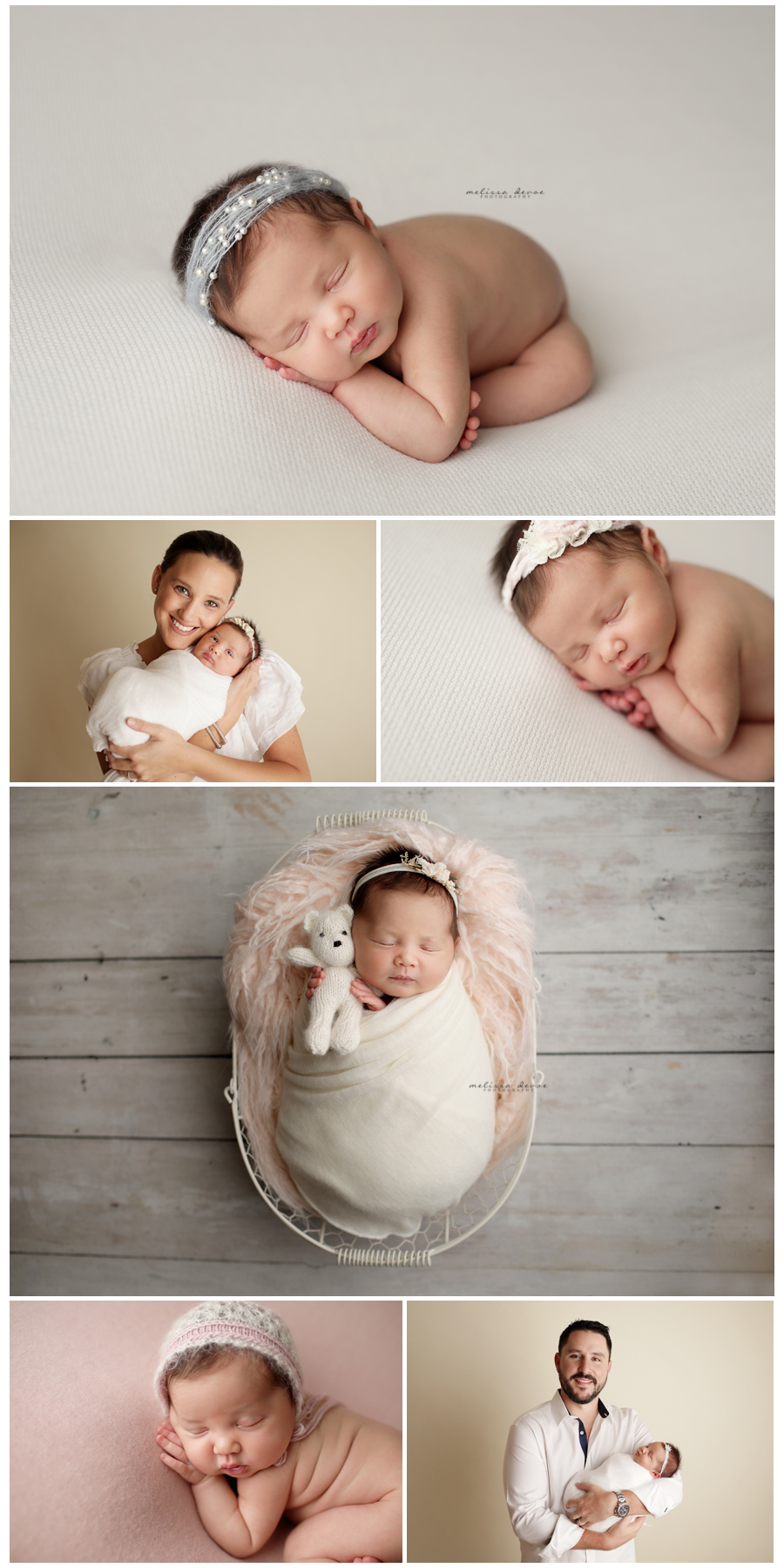 Natural Newborn Baby Photography