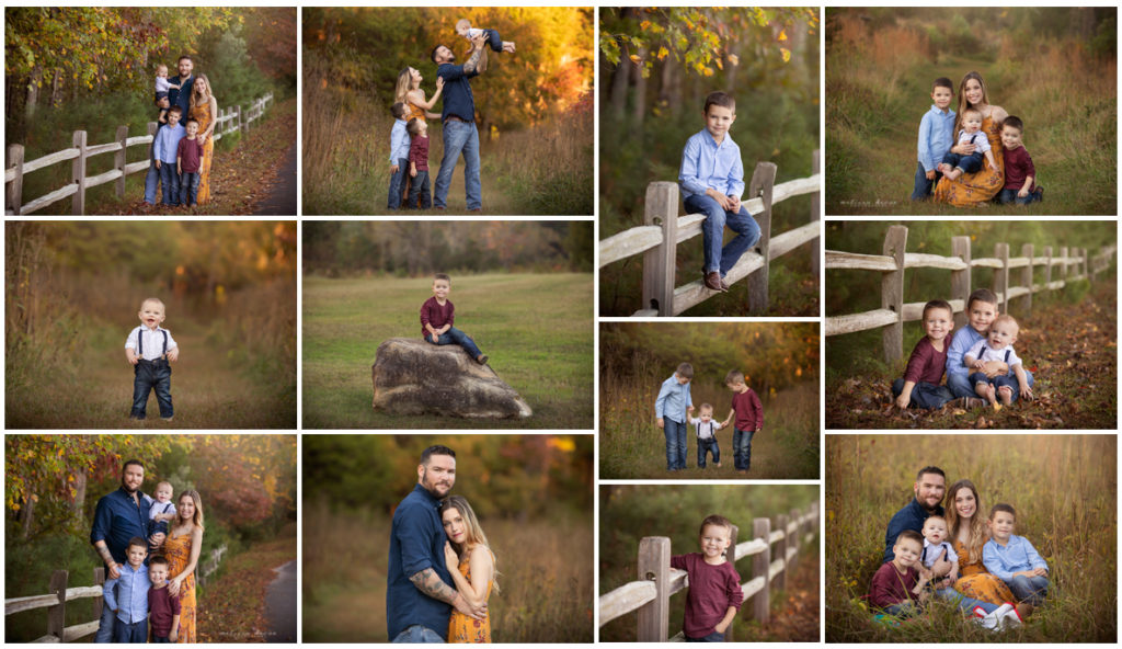 Melissa DeVoe Raleigh Family Mini Sessions