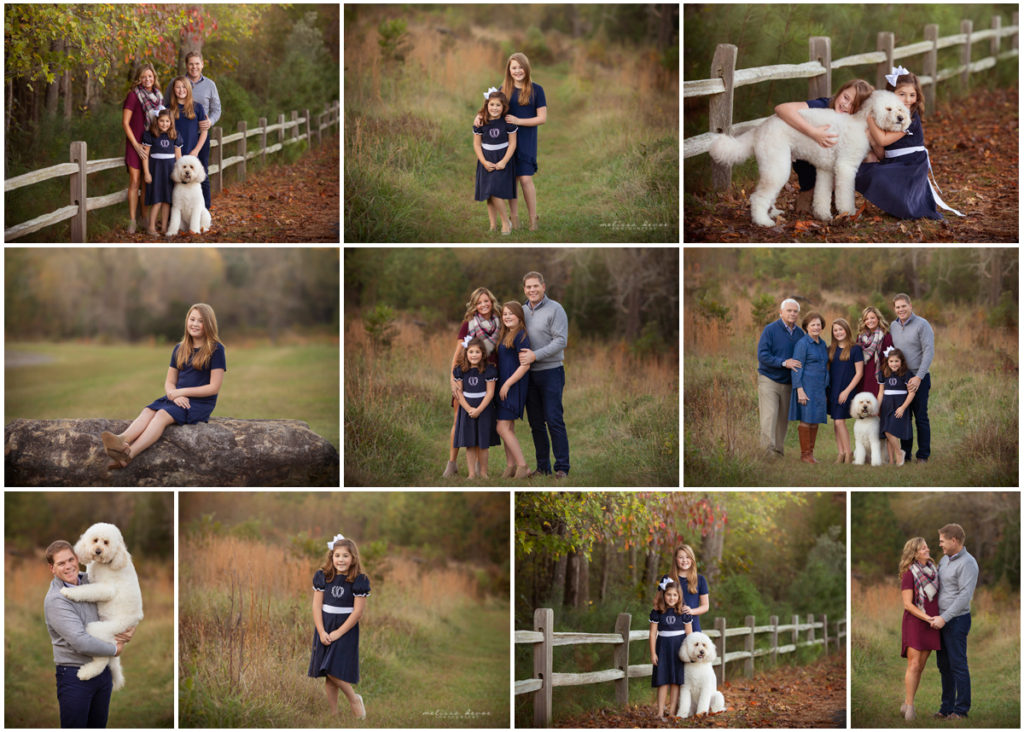Fall Family Mini Sessions Wake Forest NC