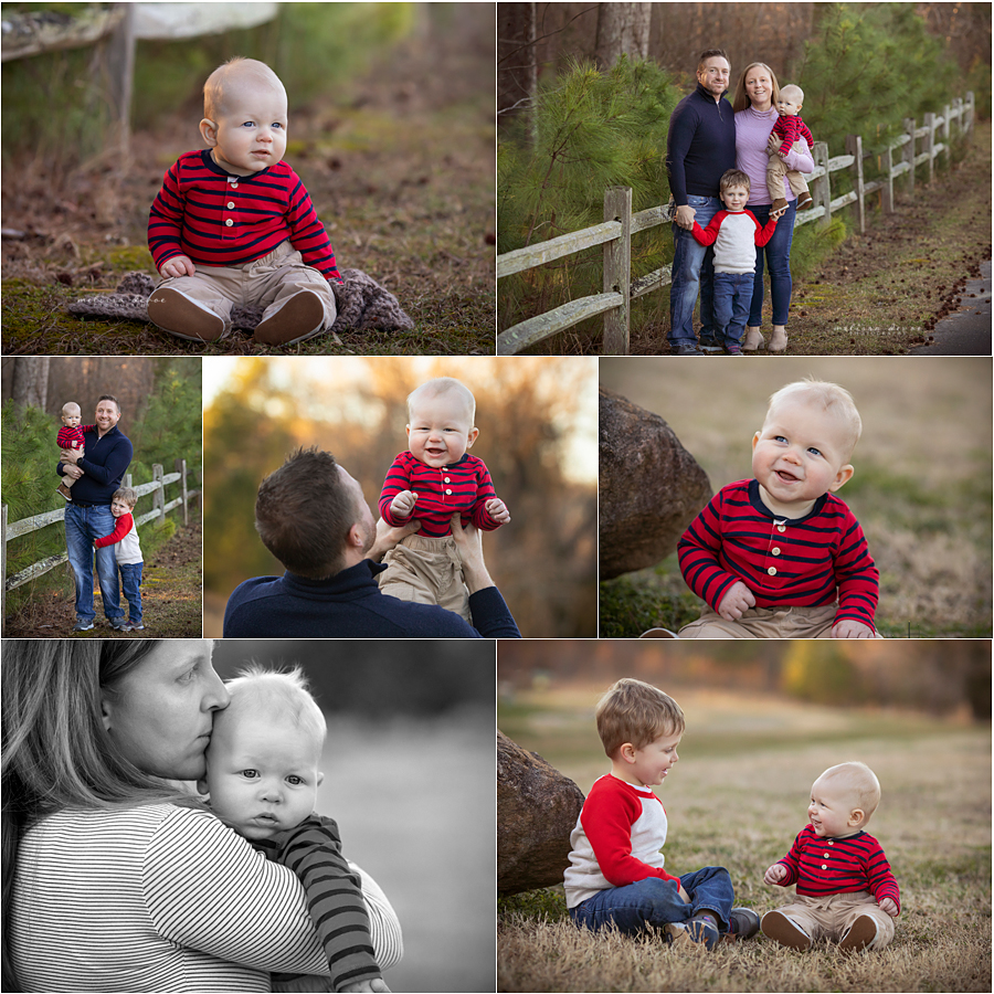 Raleigh Baby's First Year photographer