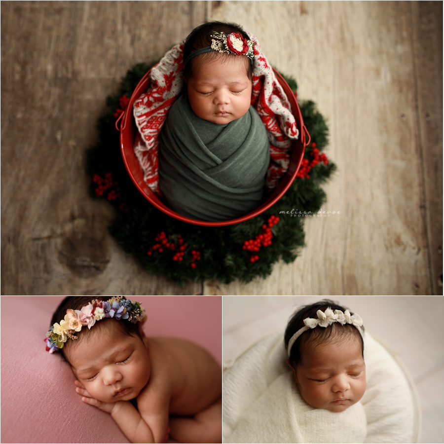 Christmas Baby Photo Session
