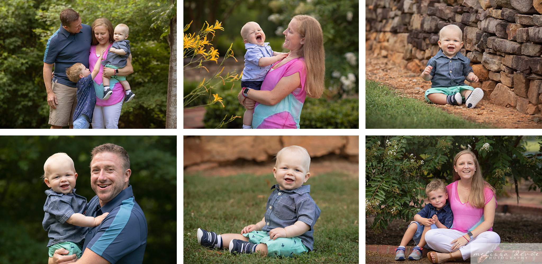 Raleigh One Year Photo Session