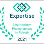 Voted Best Newborn Photographer in Raleigh 2021