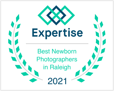 Voted Best Newborn Photographer in Raleigh 2021
