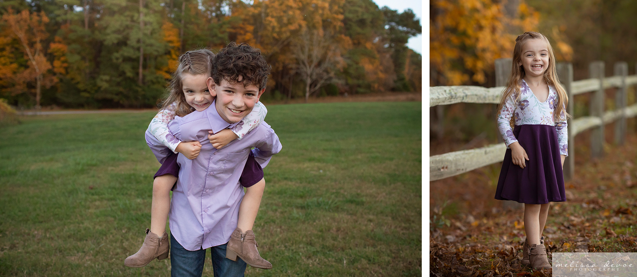 Fall Family Photo Session in Raleigh