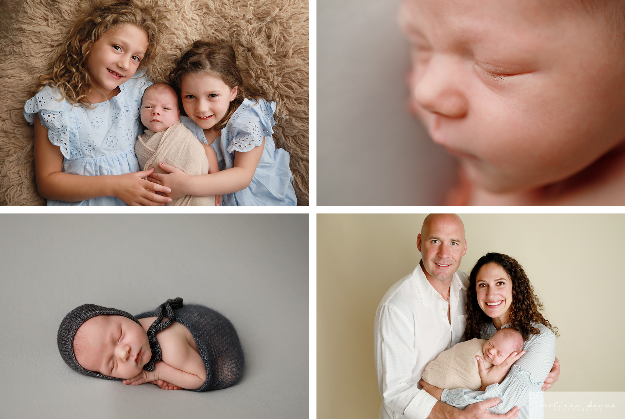 Raleigh new baby photography