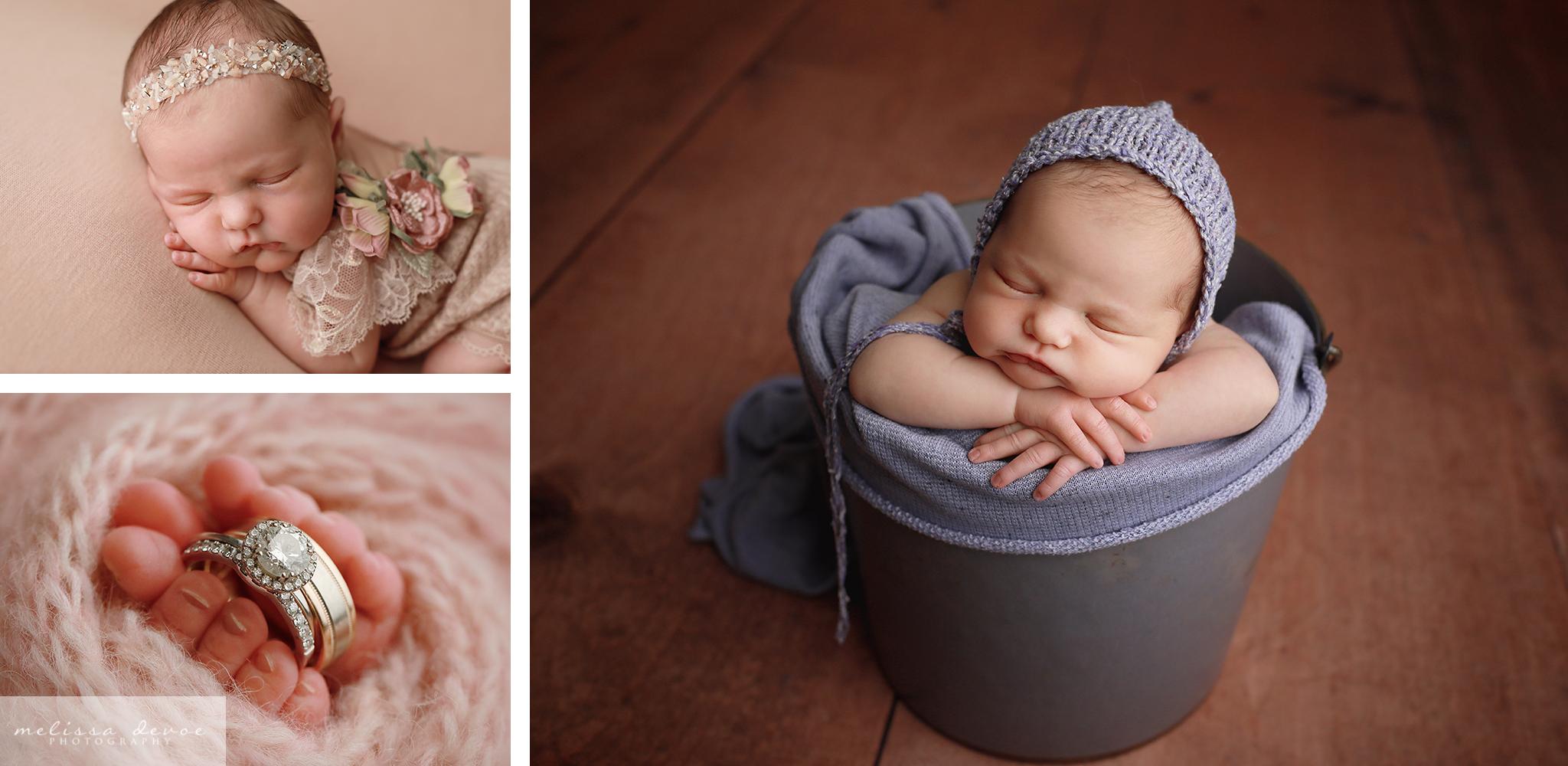Wake Forest newborn photography