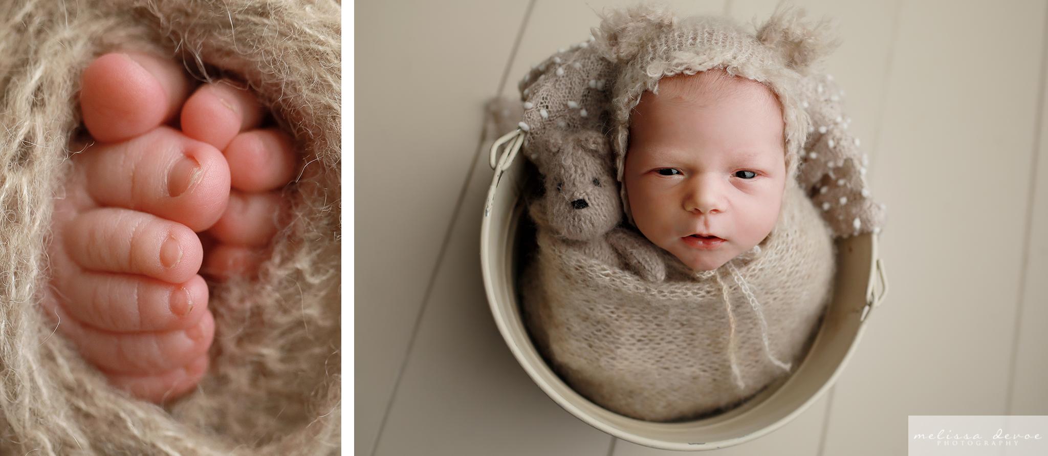 Wake Forest infant photographs